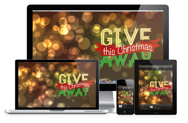 Give This Christmas Away desktop Wallpaper by Creative Ruckus
