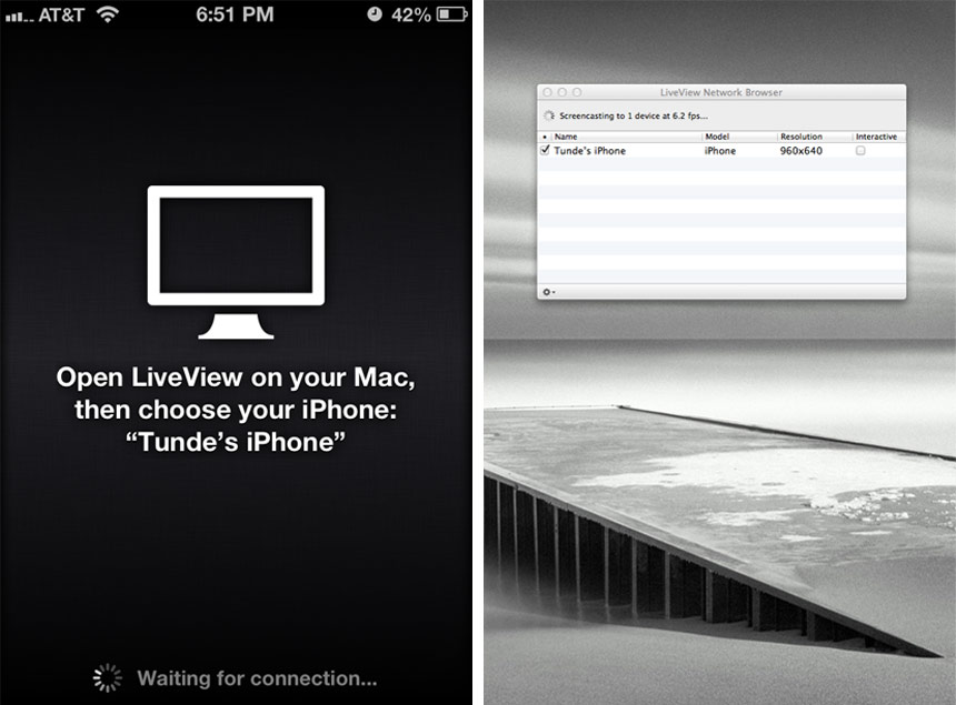 LiveView-AppScreenShot Creative Ruckus
