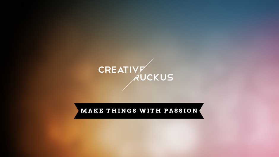 Creative Ruckus - Make Things With Passion
